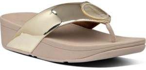 FitFlop Demelza Logo Toe-Thong Sandals Women's Shoes