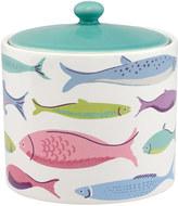 Cath Kidston River Fish Printed Ceramic Pot