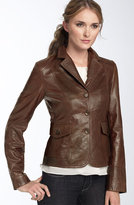 Leather Blazer