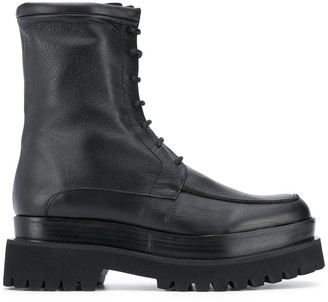 Paloma Barceló Chunky Sole Combat Boots