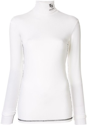 Yang Li Roll Neck Top