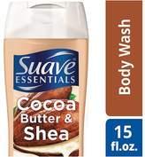 Suave Naturals Essentials Body Wash Cocoa & Shea
