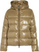 Duvetica Thiacinque quilted shell hooded down coat