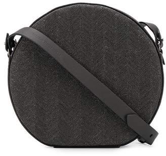 Brunello Cucinelli circle crossbody bag