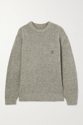 Anine Bing Ramona Knitted Sweater - Mushroom