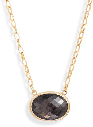 Anna Beck Stone Oval Statement Necklace