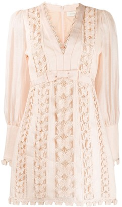 Zimmermann Super Eight butterfly embroidery dress