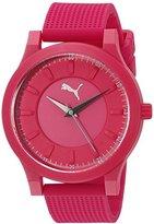 Puma Unisex PU103312003 Mono Analog Display Quartz Pink Watch