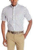 Dockers Short Sleeve Fashion Roadmap Button Down Collar Shirt