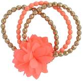 Carter's Toddler Girl 3-pk. Floral Beaded Bracelet Set