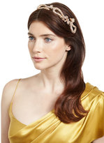 Jennifer Behr Headpieces Hydra Pavé; Dragon Tiara, Gold