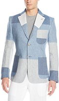 Vivienne Westwood Men's Oversize Check Linen Patch Jacket
