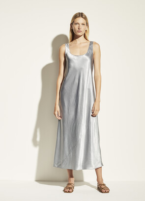 Vince Square Neck Tank Dress