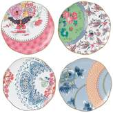 Wedgwood Butterfly Bloom Tea Plates (Set of 4)