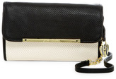 Betsey Johnson Perforated Faux Leather Crossbody