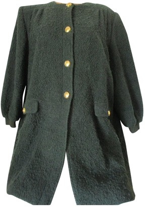 Valentino Brown Wool Trench Coat for Women Vintage