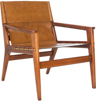 Safavieh Couture Culkin Leather Sling Chair