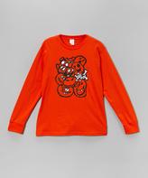Micro Me Orange Monster Mash Tee - Toddler & Boys