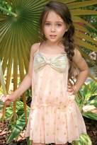 Sara Sara Gold Bow Dress