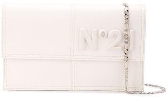 No.21 Embossed Panelled Crossbody Bag