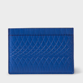 Paul Smith No.9 - Blue Leather Card Holder