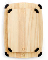 Martha Stewart Collection Set of 2 Rubberwood Grip Cutting Boards, Created for Macy's