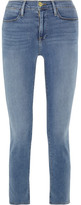 Frame Le High Slim-leg Jeans - Light denim