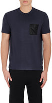 Barneys New York MEN'S COTTON-BLEND FRENCH TERRY T-SHIRT