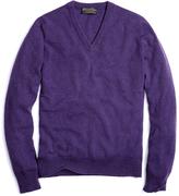 Brooks Brothers Cashmere V-Neck Sweater