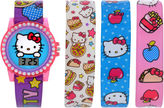 Hello Kitty Girls Pink Strap Watch-Hk3004jc
