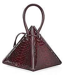 Nita Suri Women's Lia Pyramid Python Handbag