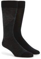 BOSS Men's 2-Pack Wool Blend Socks