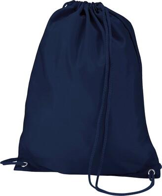 QuadraGym Drawstring Shoulder Bag (7Litres) black Size: One size