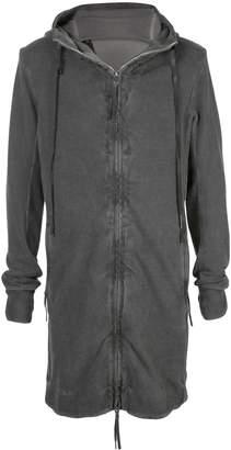 Boris Bidjan Saberi worn-out effect hooded jacket
