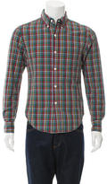 Band Of Outsiders Seersucker Button-Down Shirt