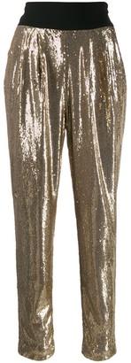 P.A.R.O.S.H. high-waist trousers