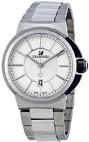 Swarovski Piazza Grande Silver Dial Stainless Steel Men's Watch