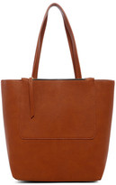 Urban Expressions Vegan Leather N/S Tote