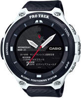 G-Shock Men's Gps Pro-Trek Black Resin Strap Touchscreen Smart Watch 61.7mm