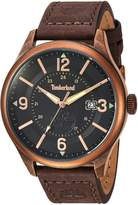 Timberland Men's TBL14645JSQR02 BLAKE Analog Display Analog Quartz Brown Watch