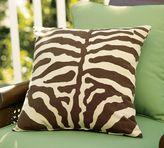 Zebra Outdoor Pillow