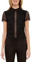 Ted Baker Collared Lace Top
