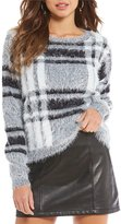 Gianni Bini Bailey Plaid Sweater