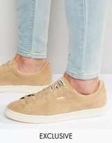 Puma Suede Classic Sneakers In Beige Exclusive To ASOS