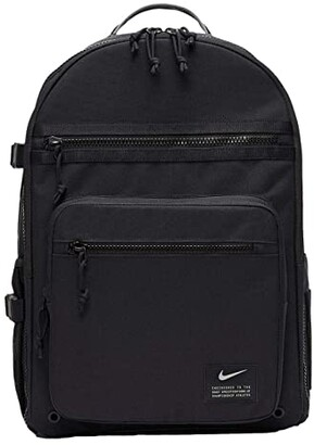 Nike Utility Power Backpack (Black/Black/Enigma Stone) Backpack Bags