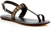 Bernardo Maverick T-Strap Slingback Flat Sandals