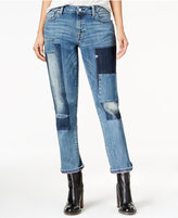 Tommy Hilfiger Rena Patchwork Wash Boyfriend Jeans, Only at Macy's