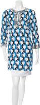Tory Burch Embellished Printed Tunic