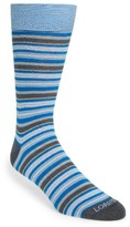 Lorenzo Uomo Men's Stripe Socks