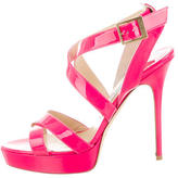 Jimmy Choo Vamp Multistrap Sandals